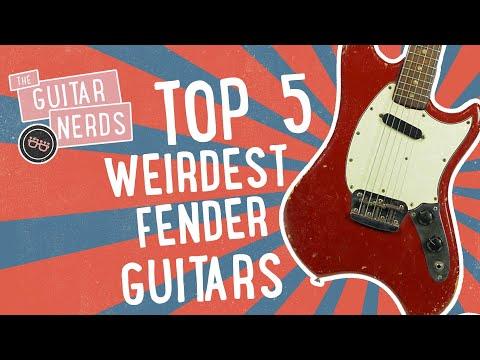Top 5 Weirdest Fender Guitars Ever Produced