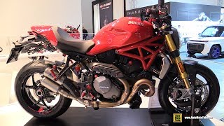 10. 2018 Ducati Monster 1200 S CNC Racing Accessorized - Walkaround - 2017 EICMA