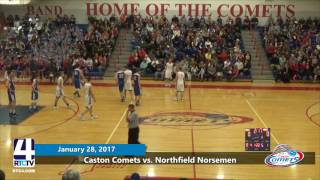 Caston Boys Basketball vs. Northfield
