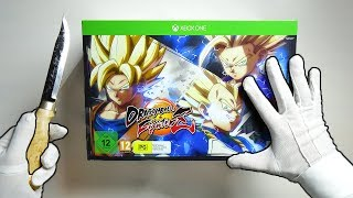 DRAGON BALL FIGHTERZ COLLECTORZ EDITION UNBOXING! Goku Super Saiyan Statue Collector's