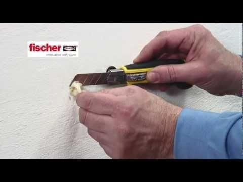 Come riparare i fori su muro e legno