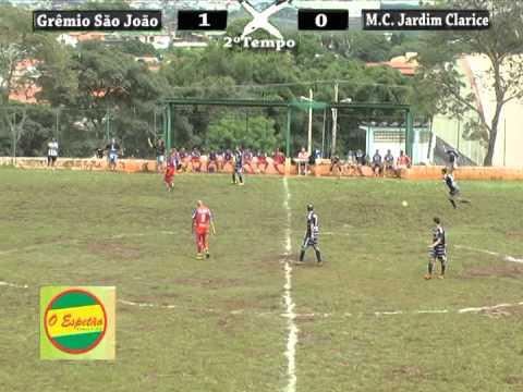 Grêmio São João 1x1 M.C.Jardim Clarice - Varzeano Votorantim