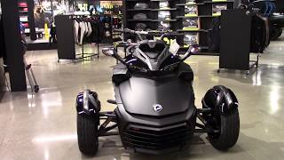 10. 2018 Can-Am Spyder F3-S SE6 - New 3 Wheel Motorcycle For Sale - Elyria, OH