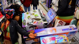 Took Our Kids On A Xmas Shopping Spree!