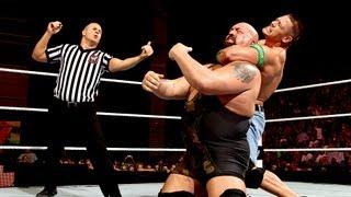 John Cena vs. Big Show  No. 1 Contenders Match Raw July 30 2012