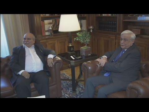 Με τον νέο πρόεδρο της Βουλής, συναντήθηκε ο Πρόεδρος της Δημοκρατίας Πρ.Παυλόπουλος