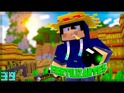 Minecraft: FÁBRICA DE FERTILIZANTES !! - Agrarian Skies 39 ‹ Alone ›