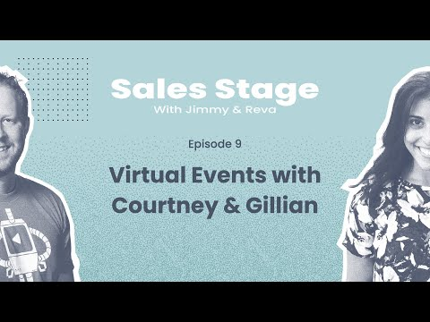 The Sales Stage - Episode 9 - Virtual Events & Networking with Video