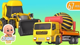 Video Excavator videos for children | Construction trucks for children | Trucks for children  - Jugnu kids MP3, 3GP, MP4, WEBM, AVI, FLV November 2017