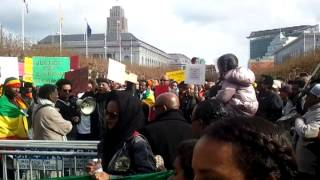 SF Bay Area Protests Against The INHUMANE Treatments Against ETHIOPIANS In BARBARIC Saudi Arabia