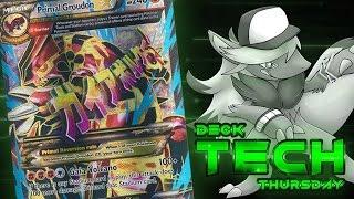 Pokémon Cards - Primal Groudon EX Deck Profile! | Deck Tech Thursday #16 by The Pokémon Evolutionaries
