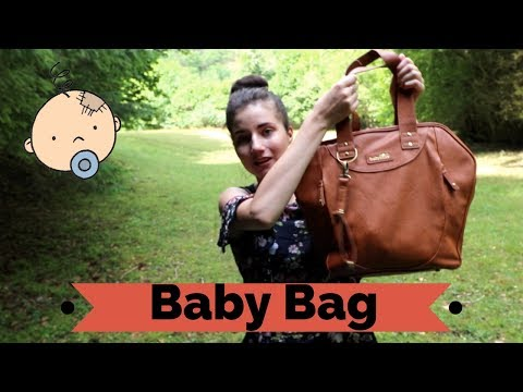 What's in my baby bag ? - sac a langer bebes
