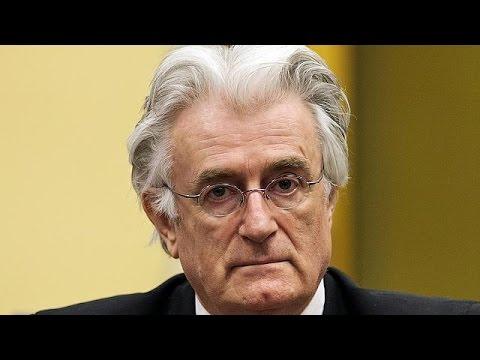 Αναμένοντας την ετυμηγορία για τον Ράντοβαν Κάρατζιτς