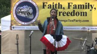 Star Parker At Tax Day Rally-2011