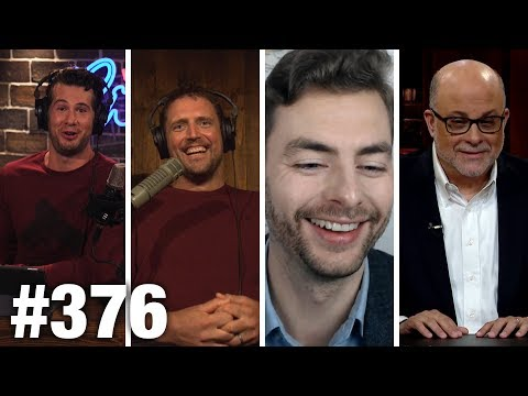 #376 BIG TECH PURGES CONSERVATIVES?! Paul Joseph Watson, Mark Levin Guest | Louder With Crowder (видео)