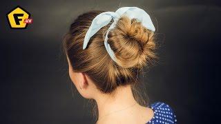 повязка для волос прически фото