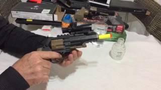 Pistola Arma de Gel e Narf