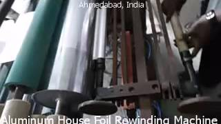 Aluminum House Foil Rewinding Machine