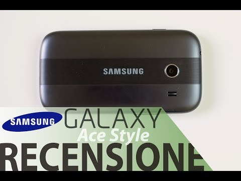 Samsung Galaxy Ace Style, recensione in italiano