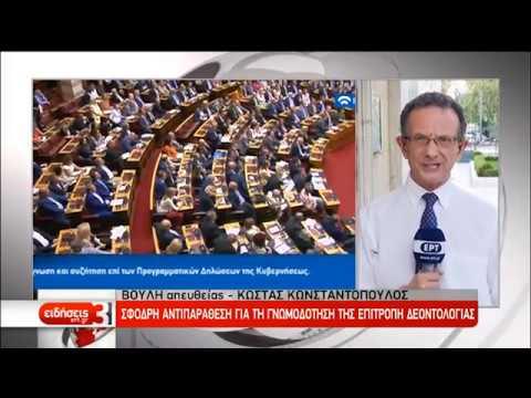 Άρση της ασυλίας Πολάκη εισηγείται η επιτροπή Δεοντολογίας στη Βουλή | 24/07/2019 | ΕΡΤ