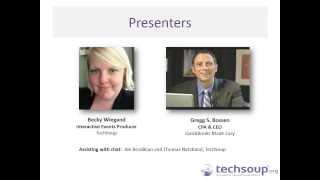 Webinar - QuickBooks 2014 for Nonprofits and Charities - 2013-01-23 full download video download mp3 download music download