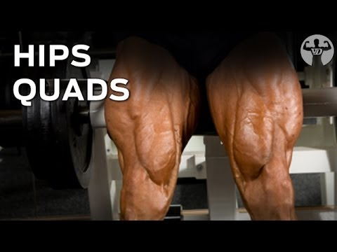 8-8-16 Day2 Muscle Building Workout, Hips, Quads…