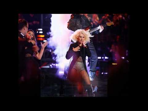 Team Christina - Christina Aguilera - Medley Jackson Live HQ Louder sound ( Team Xtina The voice)