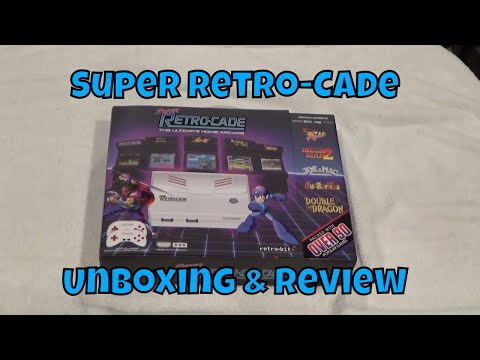 Super Retro Cade Unboxing and Review