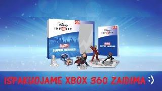 "Siame video ispakuosime ""Disney Infinity 2.0 Marvel Super Heroes - Starter Pack"" [XBOX 360] zaidimu rinkini :)Prenumeruokite kanala! Jeigu patiko spauskite Like!"