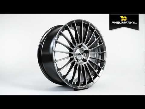 Youtube AEZ Valencia dark 9,5x20 5x112 ET35 Leštěná čelní plocha / Černý lak