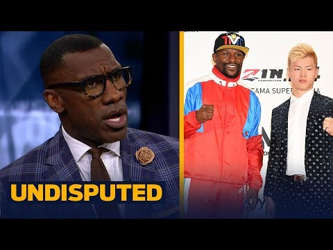 Skip and Shannon discuss Floyd Mayweather Jr. backing out of fight with a kickboxer | UNDISPUTED