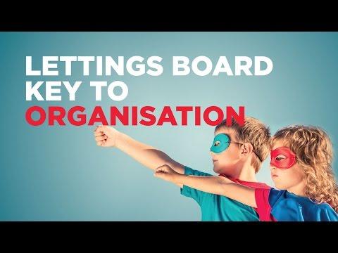 Lettings Board Key to Organisation