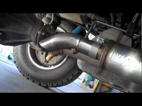 MAGNAFLOW Installation for 2008 Tundra 5.7L CrewMax (видео)