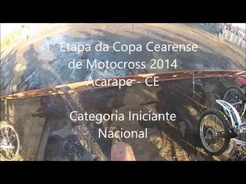 1° Etapa Copa Cearense de Motocross 2014 em Acarape - Iniciante Nacional