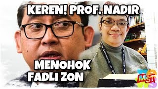 Video Keren! Balasan Men0h0k Prof. Nadirsyah Hosen Atas Nyinyiran Fadli Zon MP3, 3GP, MP4, WEBM, AVI, FLV November 2018