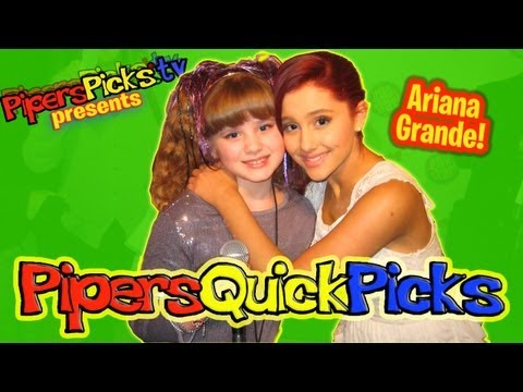 ARIANA GRANDE Epic VICTORIOUS Interview at POPSTAR! Magazine's 12 in 12 event with TWEEN REPORTER PIPER REESE! (PQP #090)