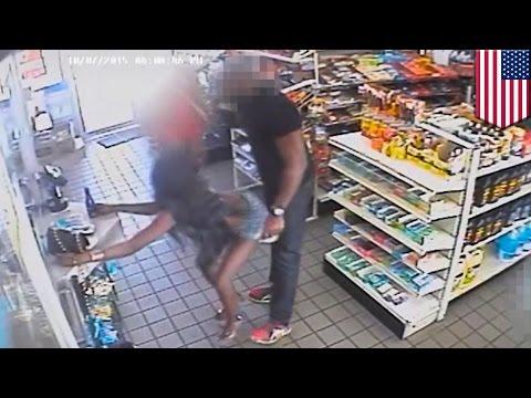 Dwie twerkujące kobiety poszukiwane za molestowanie seksualne mężczyzny