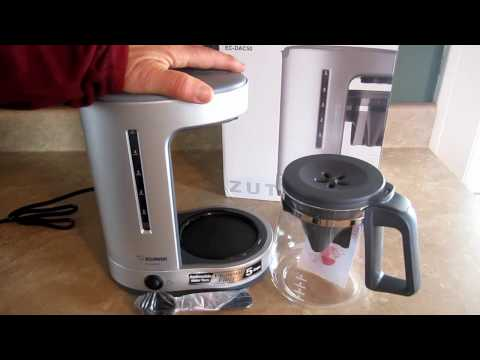 Zojirushi Zutto 5 Cup Coffee Maker Unboxing