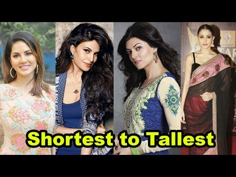 Video Shortest to Tallest all Bollywood actresses shocking height download in MP3, 3GP, MP4, WEBM, AVI, FLV January 2017