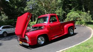 "1951 Ford F100 Step Side Pickup For SaleFully Restored440 Big BlockAutomatic Trans with B&M ShifterPower SteeringPower WindowsTilt WheelShorty HeadersDeep Red Paint with Gold Leaf GraphicsMoons Wrapped in Like New TiresFord 9"" RearDual Exhaust That Sounds FantasticBeautiful Oak and Stainless BedCustom Sony Sound System With Aux in and CDBeautiful Truck!!Keep in Touch,Michael RunnallsSpecialty Car Marketing & MediaWeBe Autos Ltd.Long Island, NY 11780 Michael@WeBeAutos.comwww.WeBeAutos.com(O)631-339-0399 (C)516-729-2003 Skype: 661-748-0245 / webeautos (F)631-389-2605 Ask us How WeBe Could Be Selling Your Car Too!"