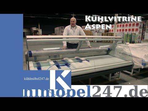 Kühlvitrine Kühltheke Gastro Aspen 2 Arneg - www.kuehlmoebel247.de