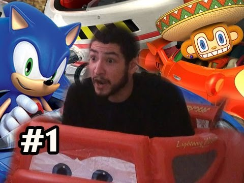 Sonic & SEGA All-Stars Racing w/Car Controller FULL CAM w/Nova Ep.1 - HERE WE GO! Video
