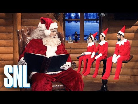 Elf on the Shelf - SNL