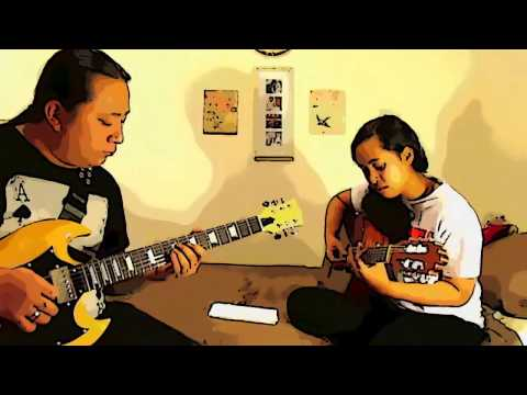 Night - Marty Friedman - Guitar cover by Raymond & Georgina Rhee