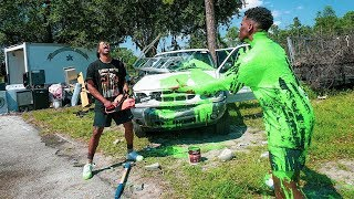 Video Destroying My Friend's Car And Surprising Him With A New One!! (EMOTIONAL) MP3, 3GP, MP4, WEBM, AVI, FLV Mei 2019