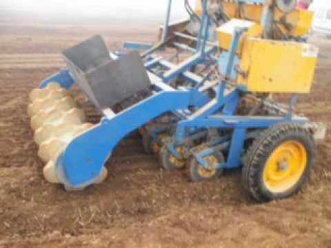 Preparación de suelos para cebolla, patata y otros, Standen