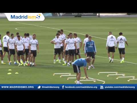 Real Madrid Training Before Derby vs Atletico de Madrid