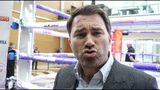 END MY EMPIRE? -****** DO IT - I DARE YOU! -EDDIE HEARN BREAKS SILENCE -WILDER, DAZN, FINKEL, HAYMON