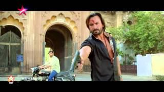 Saif Ali Khan arrives in style with 'Bullett Raja'!
