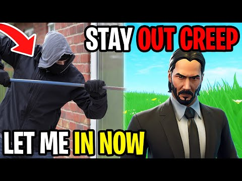 My Sisters Stalker Broke in My House - Fortnite